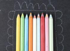 moxie 9 piece recycled paper pencil set  via @Poppytalk Handmade  $10