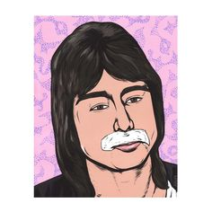 Faithfully Steve Perry by turddemon on Etsy (Art & Collectibles, Prints, pop, outsider, folk, graphic, dont stop believin, 80s, oh sherrie, legend, magical, music, pop art, portrait, funny)