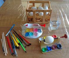 Craft: easy Disney Easter eggs