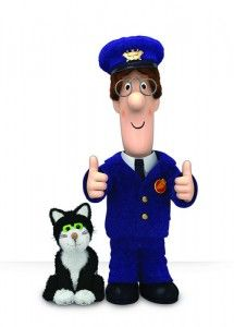 Postman Pat and Jess... he's just nice to people..