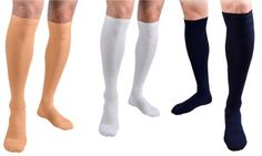 Tight copper-infused socks causes blood to circulate optimally through the entirety of the leg, helping to reduce swelling and fatigue