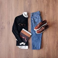 Casual Chic, Men Casual, Streetwear, Casual Outfits, Fashion Outfits, Style Fashion, Fashion Wear, Herren Outfit, Stylish Boys