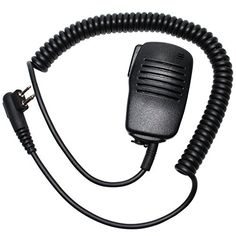 Replacement Motorola CP200 TwoWay Radio Shoulder Speaker Microphone  Handheld PushToTalk PTT Mic For Motorola CP200 >>> You can find out more details at the link of the image.