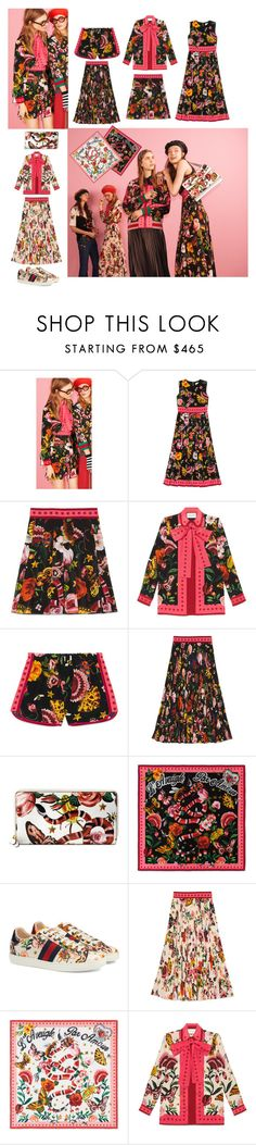 """Gucci garden exclusive"" by maria-nakhleh ❤ liked on Polyvore featuring Gucci"