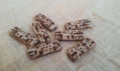 Fimo beads hand painted (2)