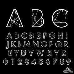 Коллекция алфавитов в векторе 16