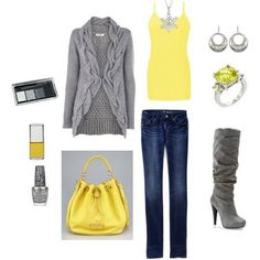 LOVE the yellow! The ring may be a bit too much though...
