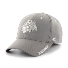 Chicago Blackhawks Condensor Stretch Fit Cap - IceJerseys.com - Official Fan Shop