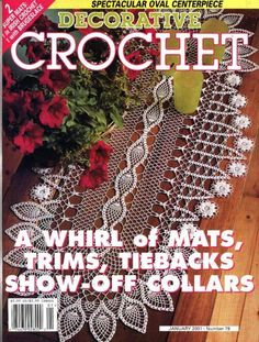 Decorative Crochet Magazines 47 - Gitte Andersen - Picasa Web Albums
