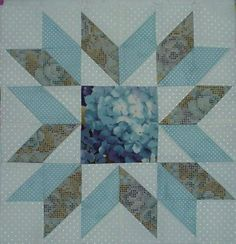 Fractured Star Quilt Block