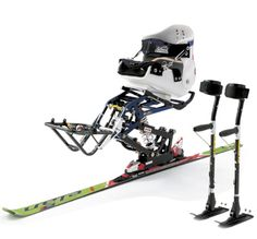 Now this is one sweet mono ski!  This would be a great start for a racing team!