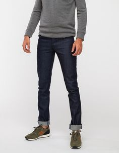 Grim Tim Dry Indigo by Nudie Jeans