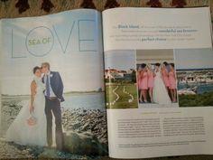 Another pressworthy Studio B wedding! Coastal living December 2013