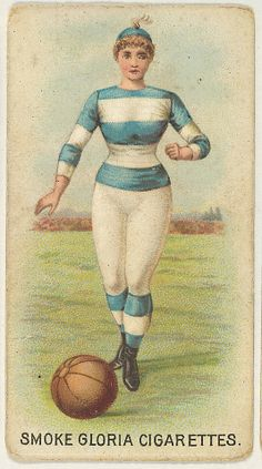 "From the series ""Sports Girls"" (C190), issued by the American Cigarette Company, Ltd., Montreal, to promote Gloria Cigarettes ca. 1889"