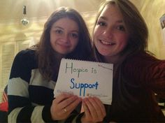 Hospice is Support