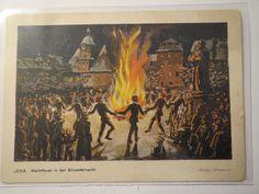 Jena Marktfeuer Silvester 1930 Studentika   eBay