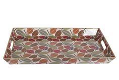 18x12 Patterned Leaf Tray on OneKingsLane.com