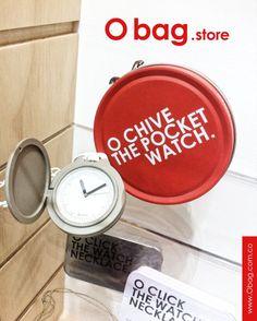 Regalar lo mejor... #Ochive - The pocket watch. #Obag  www.Obag.com.co