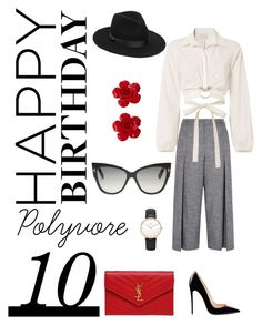 """""""A Decade Down, Forever To Go"""" by vcitydreams on Polyvore featuring Karen Millen, Cinq à Sept, Lack of Color, Chanel, Tom Ford, Daniel Wellington and Yves Saint Laurent"""