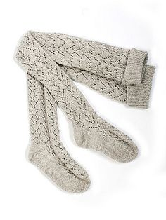Ravelry: Knee High Lace Stockings pattern by The Toft Alpaca Shop