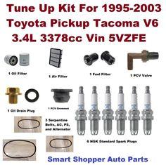 Tune Up Kit for 20002001 Isuzu Rodeo Spark Plug, Oil
