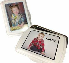 Check out our new photo lids! www.thatsmypan.com These high-quality personalized cake pans make great gifts! Starting at $44.99