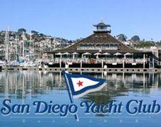San Diego Yacht Club. Rehearsal Dinner & Reception site