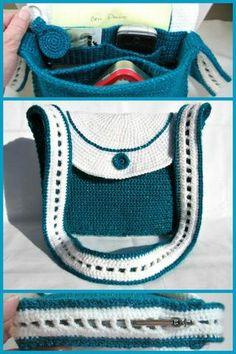 Ebook Crochet Pattern, Unisex Satchel