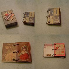 """This sweet little book was made from a matchbox. (redwing480, """"Matchbox Book,"""" December 10, 2007, Creative Commons Attribution.)"""