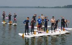 SUP - Stand Up Paddling am Dümmer-See
