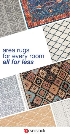 Find area rugs for every space at Overstock.com. Plus, shop thousands of home products and beautiful new furniture at the lowest prices. Overstock.com -- All things home. All for less.