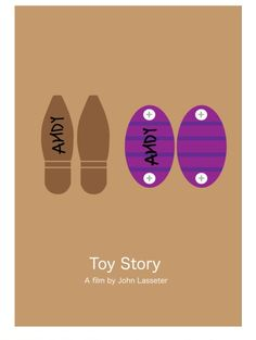 Toy Story (1995) ~ Minimal Movie Poster by David Peacock