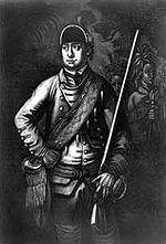 Robert Rogers (soldier) - American Colonial Frontiersman. Commanded the famous Rogers' Rangers and founded the U.S. Army Rangers.