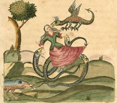 MONSTER BRAINS: Selections From The Clavis Artis Manuscript, 17th/18th C.