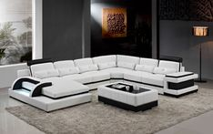 Cheap leather sofa, Buy Quality corner leather sofa directly from China sofas for living room Suppliers: Large corner leather sofa for modern sectional sofa U shaped sofa for living room sofa furniture
