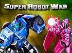 Súper Robot War - Un robot dotado de nervios de acero y la capacidad de transformar asume la misión de destruir a los malvados robots que están tratando de convertir a los ciudadanos en esclavos.