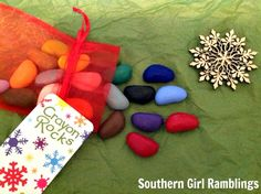 Stocking Stuffer Ideas: Crayon Rocks Review from Southern Girl Ramblings