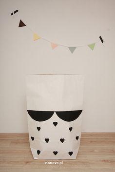 paper bag girl #minkjuu #nonove #kidsroom #design #paper #girl