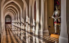 Stanbrook Abbey in Worcester, England