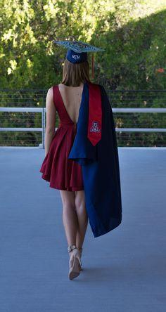 University of Arizona Graduation Photo. Photo Cred Sharon Thompson