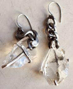 Quartz Shard Earrings