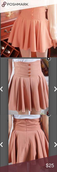 High waisted short skirt ==>>   www.lilyandco.co Skirts Mini