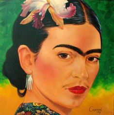 Frida Kahlo Self Portrait