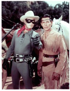 Another Saturday morning staple - The Lone Ranger and Tonto