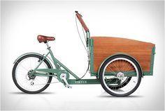 BICICLETA DE CARGA - VIRTUE CARGO BIKES Se você está transportando seu equipamento de praia, seus mantimentos, seu animal de estimação, ou seus filhos, esta bicicleta Virtue oferece grandes soluções.