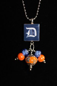 Detroit Tigers Old English D Scrabble Tile by DesignsfromtheD, $15.00