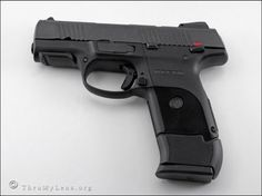 Ruger SR9C with extended magazine!