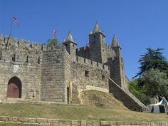 Santa Maria da Feira Castle, Portugal  http://www.feriasemportugal.pt/en/vacation-suggestions/culture-and-heritage/santa-maria-da-feira-castle/