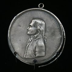1801 Thomas Jefferson Peace Medal (the president that sent Louis & Clarke on their famous expedition)