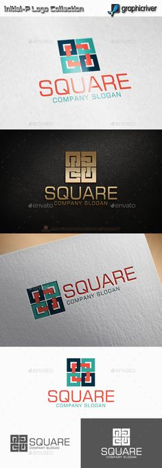 Square #Logo - Abstract Logo Templates Download here: https://graphicriver.net/item/square-logo/11319996?ref=alena994
